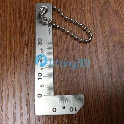 Bevel protractor 0.5-0.5mm Stainless Steel inspection gage