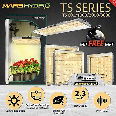 Mars Hydro Reflector LED Grow Light Panel Full Spectrum Hydroponics Veg Bloom
