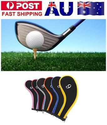 Set Of 10 Pcs Golf Iron Headcover Golf Club Cover Sleeve Protective Case Sport