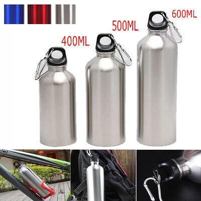 Aluminum Outdoor Exercise Bike Sports Water Bottles Drinking Kettle with Lid