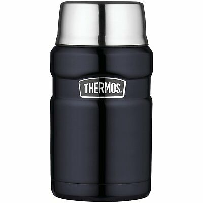 Thermos Stainless King 24-Ounce Food Jar Midnight Blue New Free Shipping