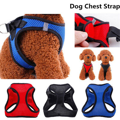 Breathable Small Dog Pet Harness Puppy Vest Chest Strap Summer Adjustable XS-XL