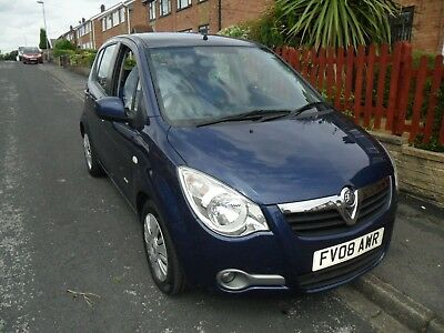 vauxhall agila one family owned from new full service history 2008