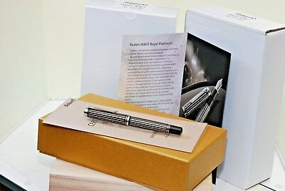 Pelikan Souverän® M800 Raden Royal Platinum fountain pen limited edition