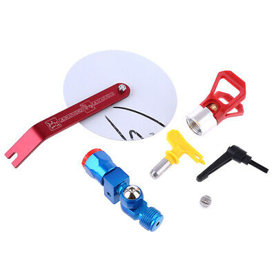 Airless Paint Sprayer Head Tip Nozzle Painting Spray Guide Tool Accessory
