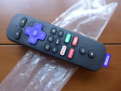 GENUINE NEW Roku Ultra Remote Control RC-GR4 with Voice, Game & Headphone  Jack