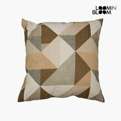 Cuscino Cotone e poliestere Beige (60 x 60 x 10 cm) by Loom In Bloom I0010_S0107
