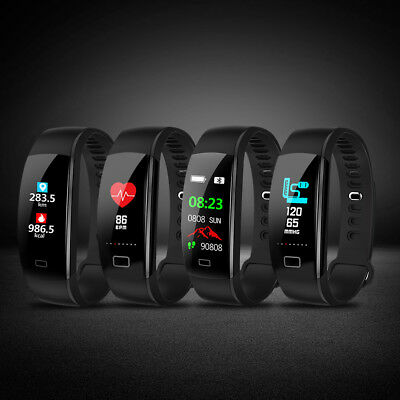 Wasserdicht Bluetooth Fitnesstracker Fitnessuhr Smart Armbanduhr Uhr Smartwatch