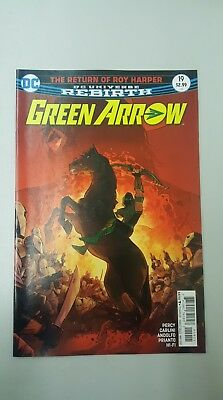DC Comics: Rebirth Green Arrow #19 (2017) - BN - Bagged and Boarded