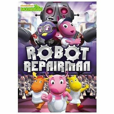 Backyard Nickelodeon dvd — the backyardigans: robot repairman — nickelodeon nick jr