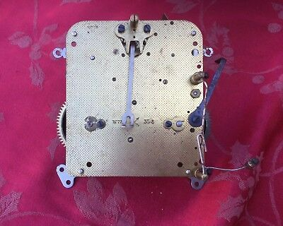 HAC W77 Clock Movement For Spares Or Repair