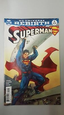 DC Comics: Rebirth Superman #2 Variant (2016) BN - Bagged and Boarded