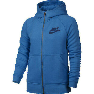 Nike Girls Sportswear Modern Full Zip Hoodie Size Large