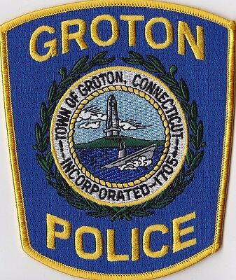 Groton Police Patch Connecticut CT