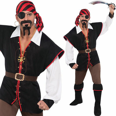 Plus Size Mens Pirate Costume The Blouse