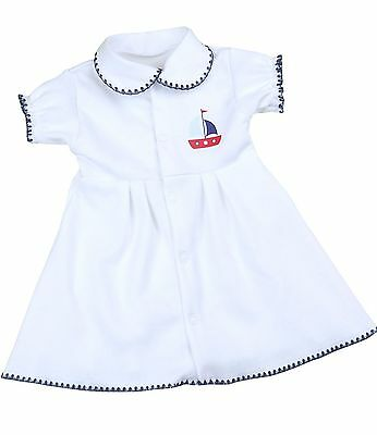 BABYPREM Baby Girls Clothes Premature Tiny Nautical Dress Dresses 1.5 - 7.5lb