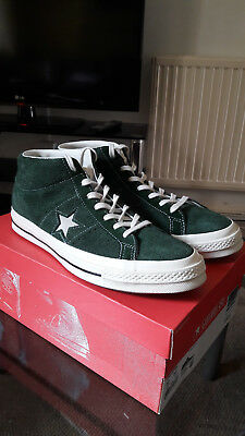 newest ff63c ecb7c Converse One Star Mid Green Brand New With Box UK10
