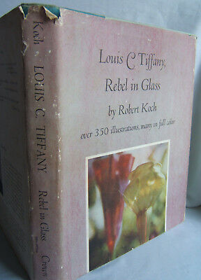 Louis C Tiffany : Rebel in Glass 1972 SIGNED Robert Koch  Stained Glass