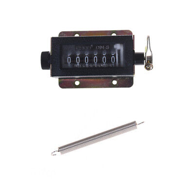 D94-S 0-999999 6 Digit Resettable Mechanical Pulling Count Counter Tool FB
