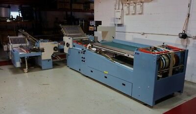 Reconditioned MBO B26S Perfection Series Continuous Feed 4/4/4 with A76 Delivery