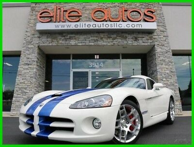 Dodge Viper SRT10 2006 SRT10 LOW MILES All Original V10 SRT Viper BLUE RACING STRIPES