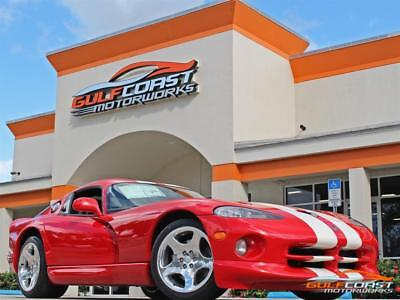 Viper GTS 2002 Dodge Viper GTS Red FINAL EDITION 258 ORIGINAL MILES