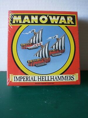 Fantasy Man o'War Imperial Hellhammer in Original Box Sealed Rare OOP