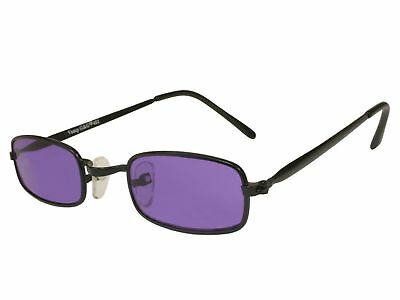 G&G Extra SMALL Costume Gothic Vampire Party Glasses Purple Lens