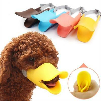 Muzzle Adjustable Lip Duckbill Novelty Anti Bite Dog Silicone Duck Bill Protect