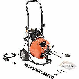 "General Wire Mini-Rooter XP Drain/Sewer Cleaning Machine W/ 75' x 1/2""Cable & 4"