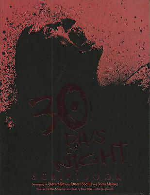 30 Days Of Night: Script Book (Soft Cover Graphic Novel, Oct 2007), Nm