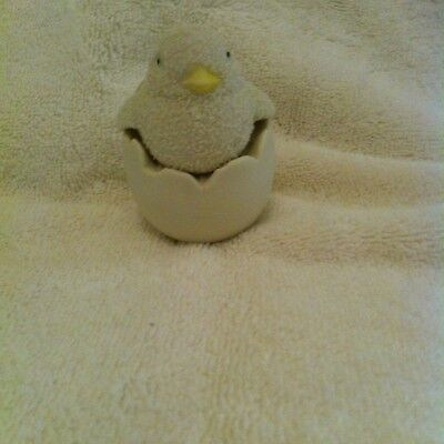 Dept 56 Snow Bunnies Chick Hatching From Egg