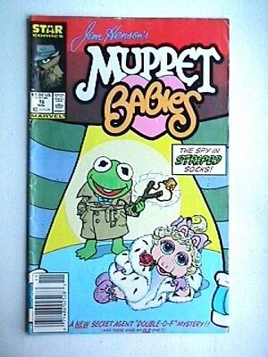 16 Muppet Babies Collectible Comic Book