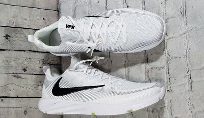 c9194d100d NEW NIKE VAPOR SPEED TURF CF Football Shoes Men's SZ 17 White Black (848334-