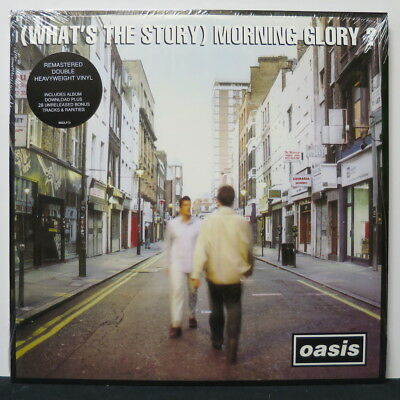 OASIS '(What's The Story) Morning Glory?' Remastered Vinyl 2LP + Download NEW