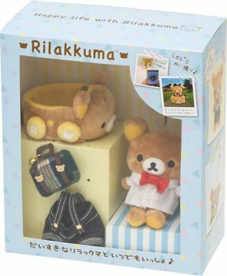 San-X Rilakkuma Happy Life With Rilakkuma Special Clothes Set New