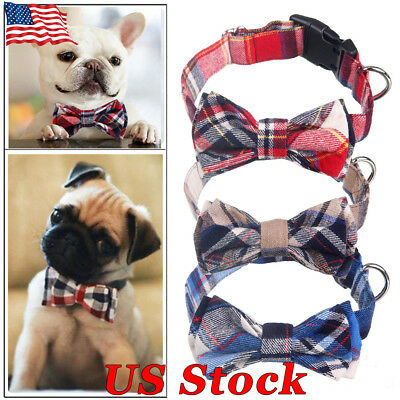 Pet Accessories Dog Cat Bow Tie Neck Pet Dog Puppy Cotton Clothing