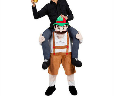 Piggyback Ride On Bavarian Beer Guy Carry Me Adult Fancy Party Dress Costume
