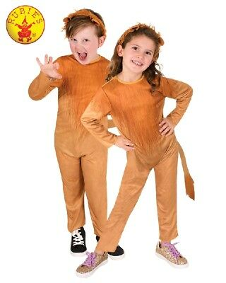 RUBIES Unisex Girls Boys Costume Fancy Dress Halloween Book Week Lion 7528