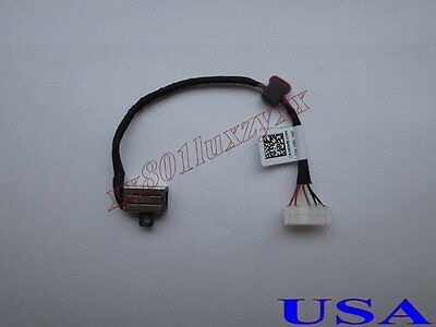 DC Power Jack Socket Cable Harness For Dell Inspiron 15-3562 15-3568 i3562 i3568