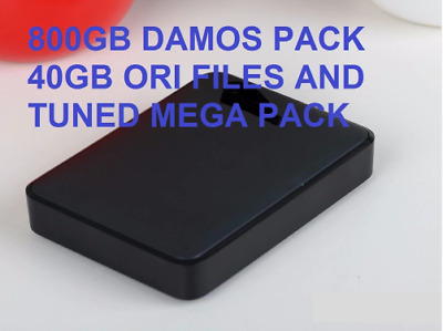 Winols 2.242.26+800GB DAMOS PACK 40GB ORI FILES AND TUNED PACK+HDD 1TB all mode