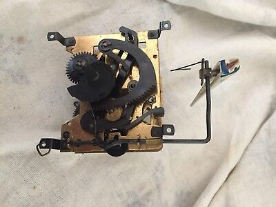 Vintage Black Forest Cuckoo Clock Movement And Bird For Restoration