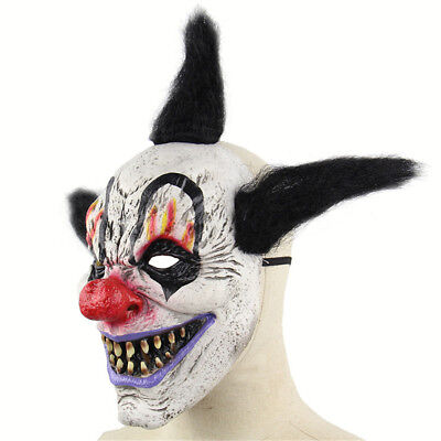 Halloween Horror Maske Zauberer Clown Latex Gesichtsmaske Party Cosplay Maske
