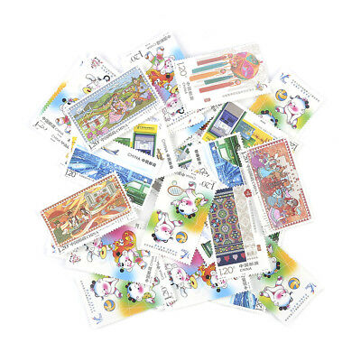 Stamp Collection Old Value Lots China World Stamps Vintage Novelty Gift