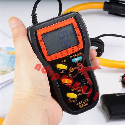 New AFLEX-6300 Graphic Power Quality Analyzer/Power Analyzer
