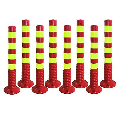 750mm Flexible Bollards Barrier Post Parking Traffic Bollard PU Flexi Bollard