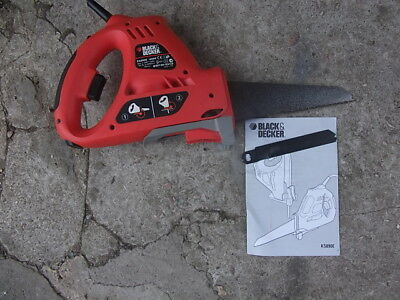 Black&Decker Scorpion Saw Powered Handsaw and Jigsaw Functions - KS890E 400W