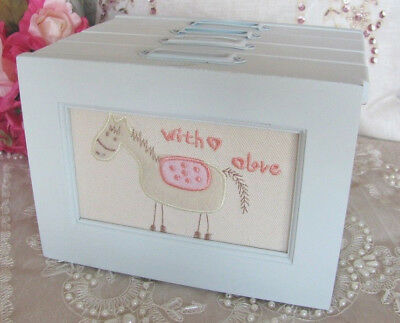 Wooden Baby Boy ~ Photo Album Box ~ Keepsake ~ Baby Gift ~ Birth ~ Christening