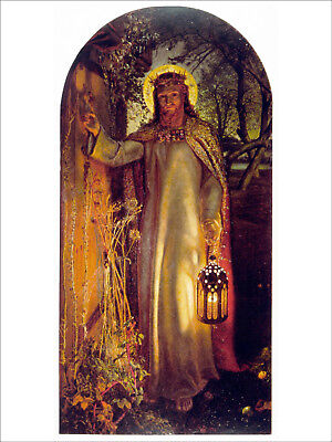 Photo Print The Light of the World Hunt, William Holman - in various sizes