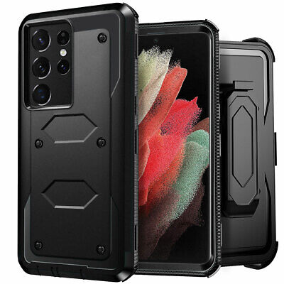For Samsung Galaxy S9 Plus/S8/S7/S6 edge S10 Shockproof Hybrid Cover Phone Case
